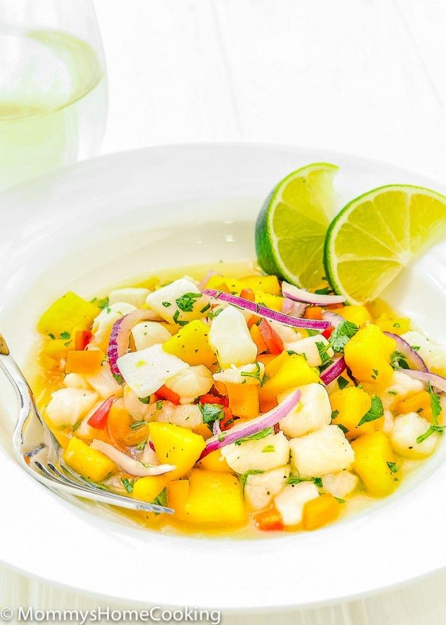 National Pinot Grigio Day: Mango and Fish Ceviche
