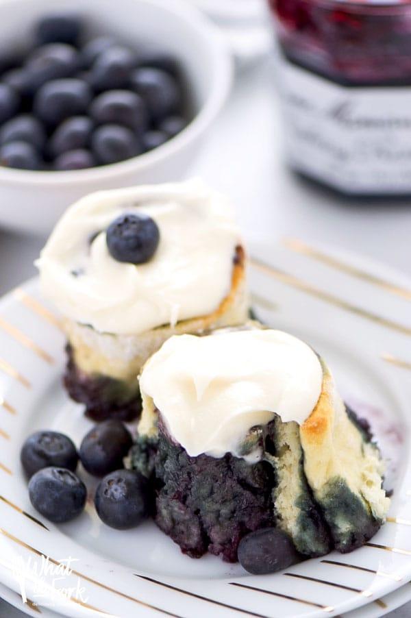 Gluten Free Blueberry Rolls
