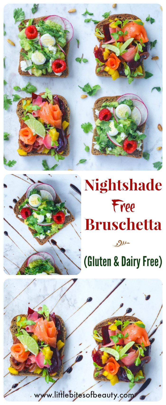 Gluten and Nightshade Free Bruschetta