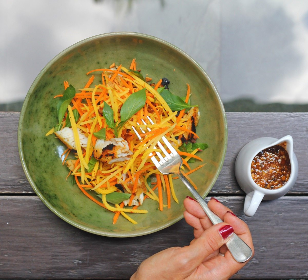 Green Mango Salad from the Chef at Park Hyat Siem Reap