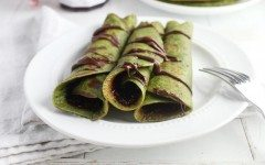 Matcha-Crepes-with-Raspberry-Preserves