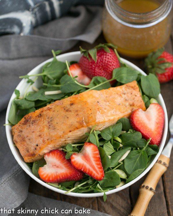 Salmon Watercress Salad