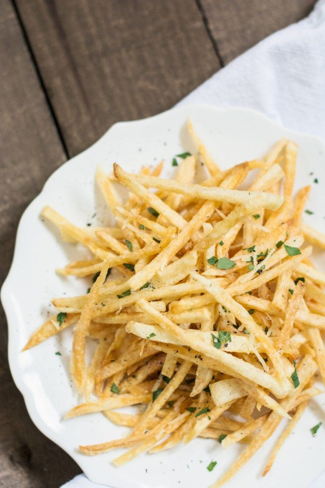 Homemade Shoestring Fries