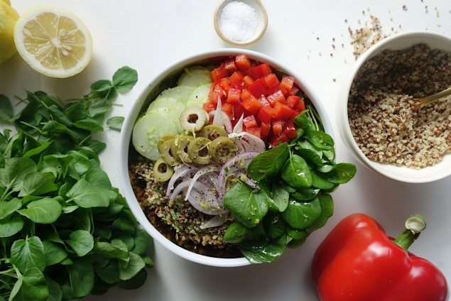 Watercress Mediterranean Bowl