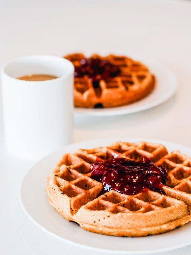 PB & J Waffles