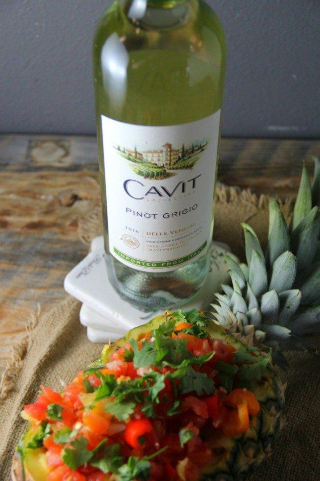 National Pinot Grigio Day: Pineapple Salsa