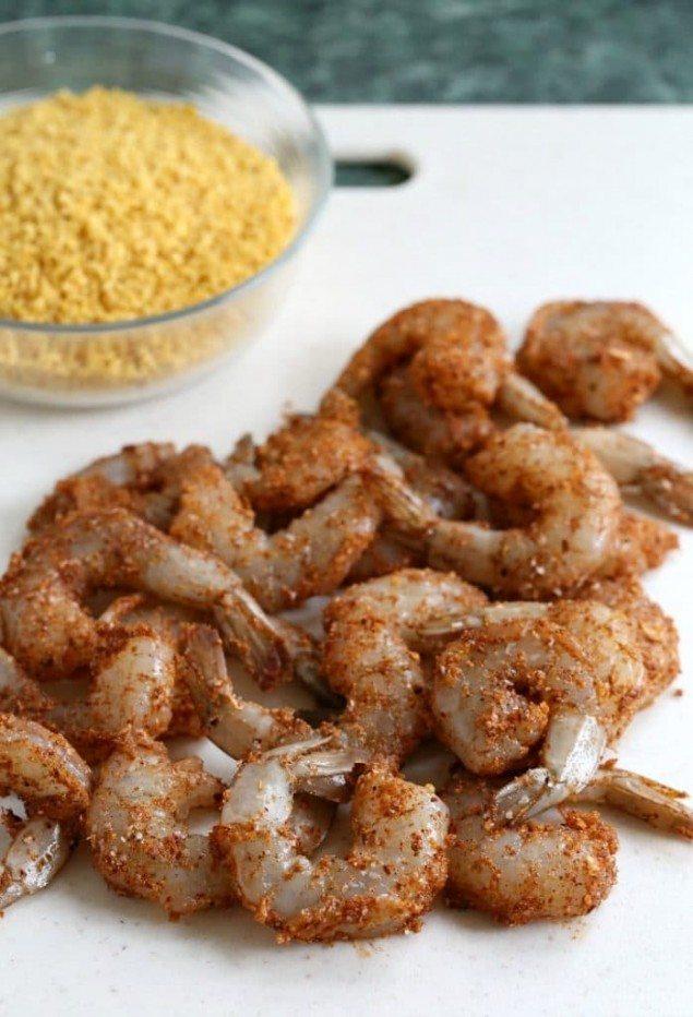 National Pinot Grigio Day: Crunchy Taco Shrimp