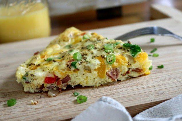 Baked Denver Omelette