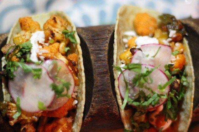 Bodega Negra Cauliflower Tacos