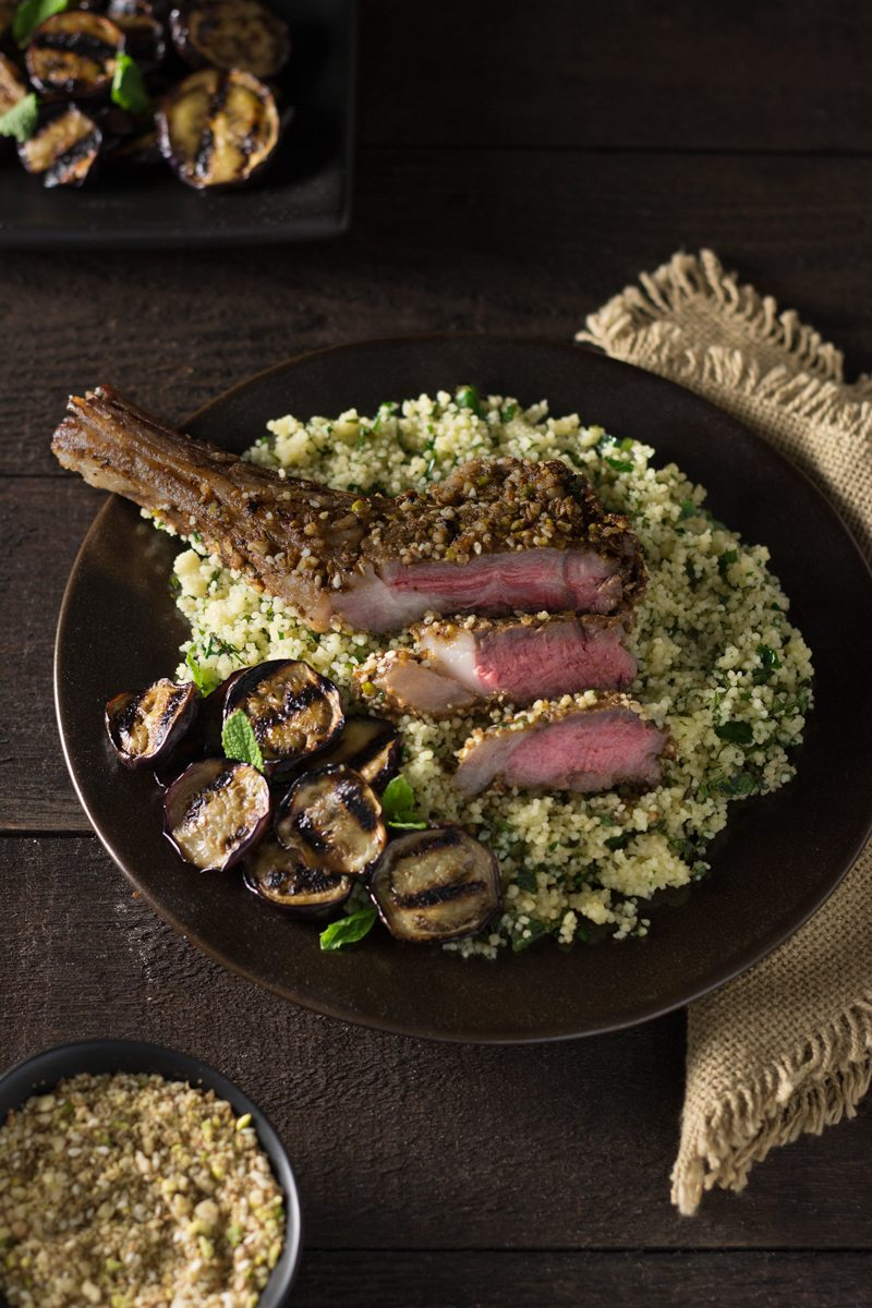 Dukkah Crusted Lamb Chops Honest Cooking