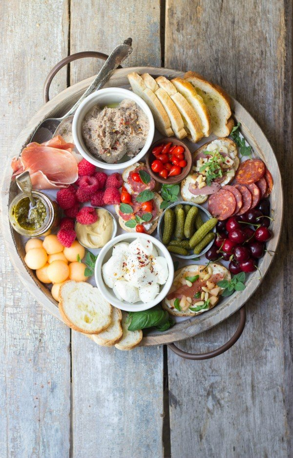 When It's Too Hot to Cook: Summer Charcuterie Board