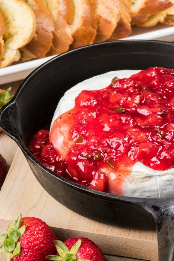 Spicy Strawberry Brie