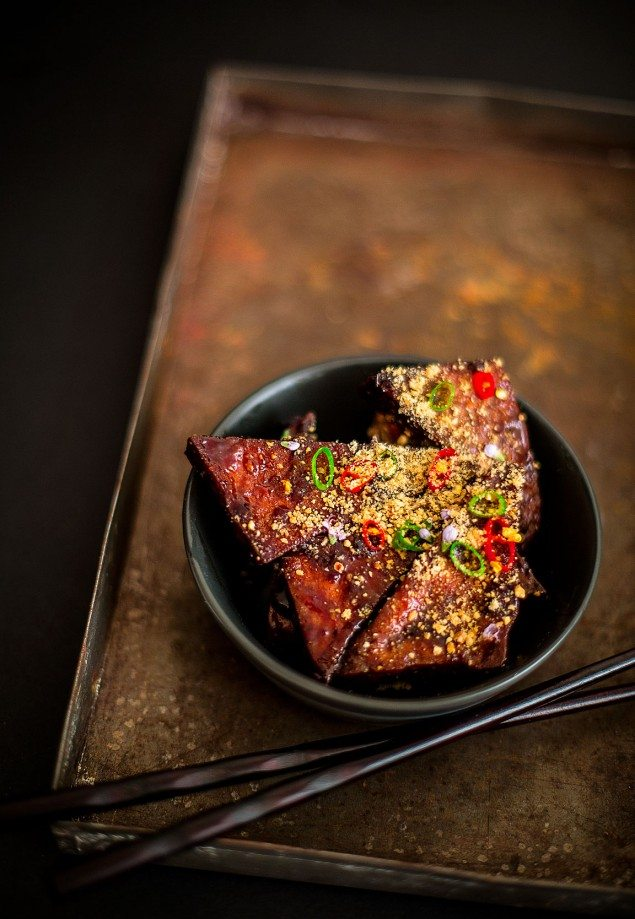 Mouth-Watering Braised Tofu