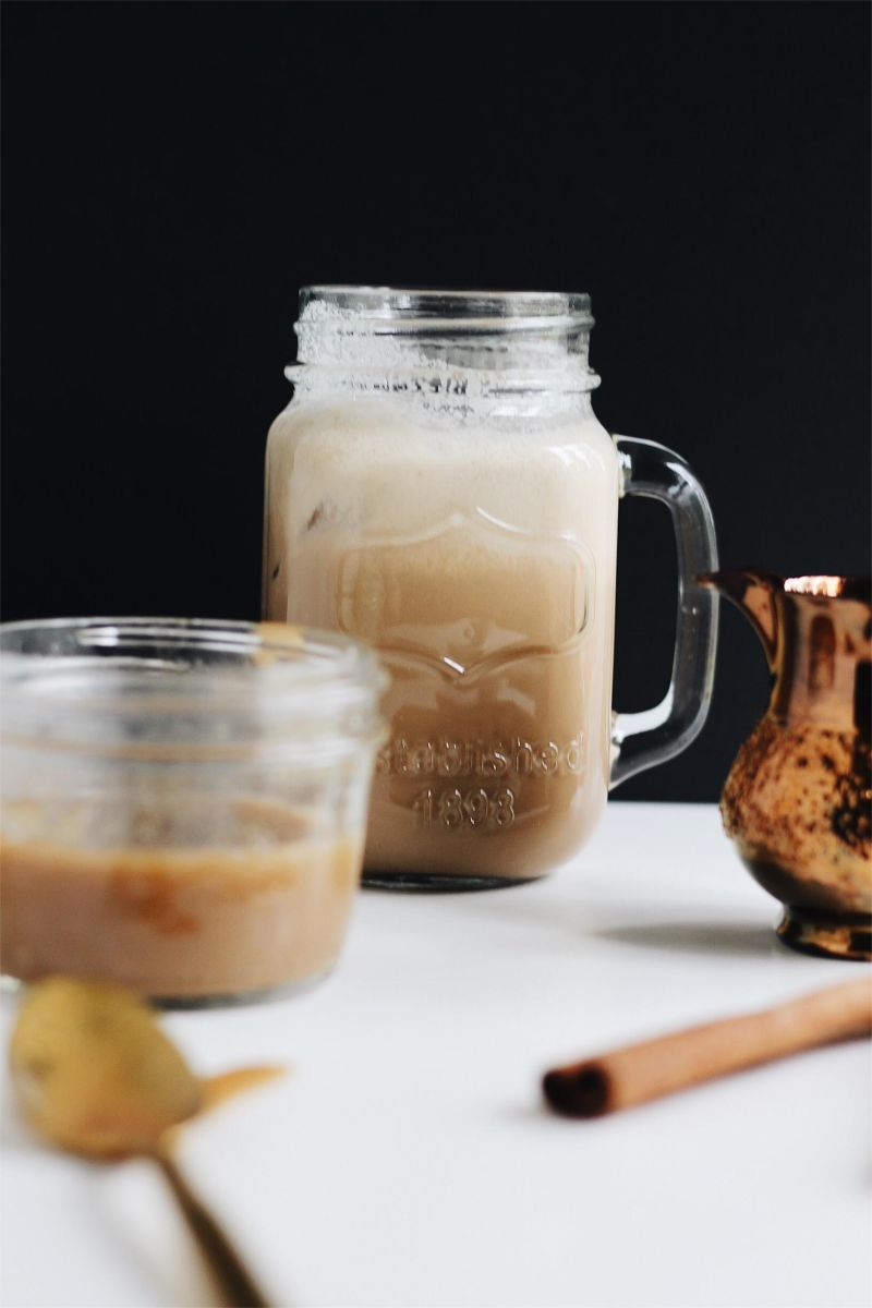 Iced Vietnamese Coffee with Coconut Milk