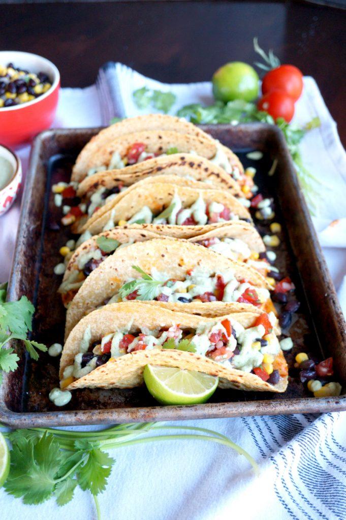 Vegan Sofritos Tacos