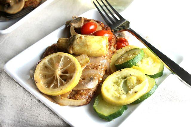 Artichoke Lemon Chicken