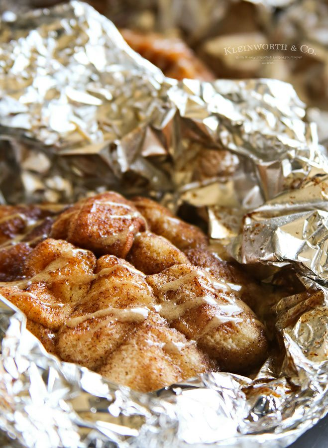 Campfire Cooking: Cappuccino Monkey Bread