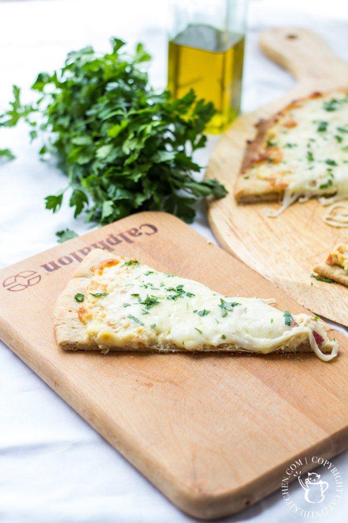Comfort Food: Carbonara Pizza