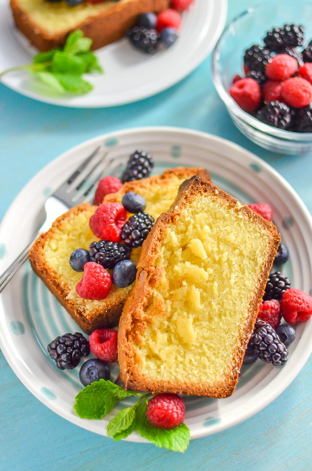 Dairy-Free Lemon Pound Cake