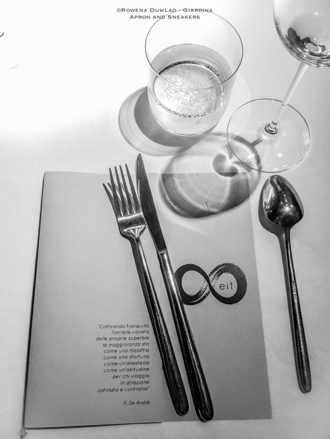 A Dinner of Eights: Eit Restaurant in Rome, Italy