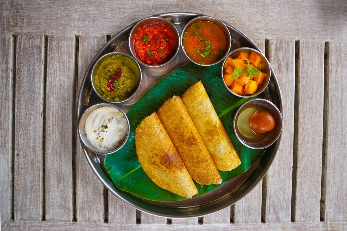 Dosa Gluten Free Indian Crepe With Coconut Chutney From The Chef At Park Hyatt Goa Gluten Dairy