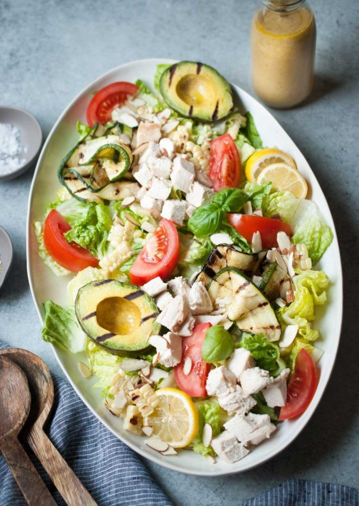 Everything's Grilled Salad