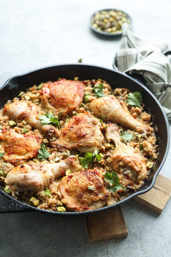 Harissa Moroccan Chicken
