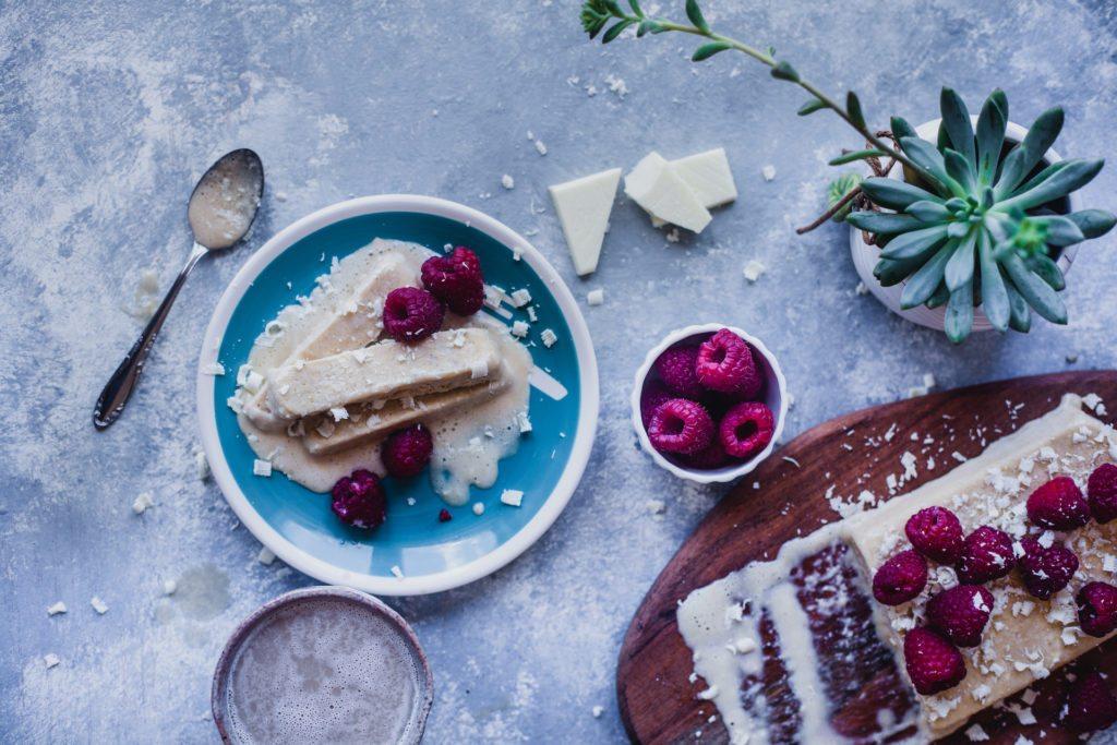 Mascarpone White Chocolate Cappuccino Semifreddo