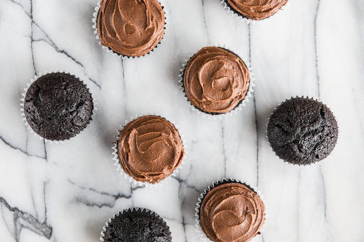 Ultimate Chocolate Frosting and Cupcakes