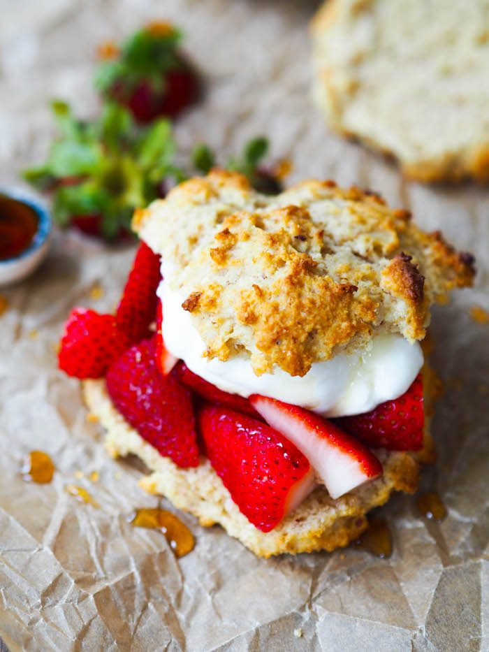 Breakfast-Approved Strawberry Shortcake