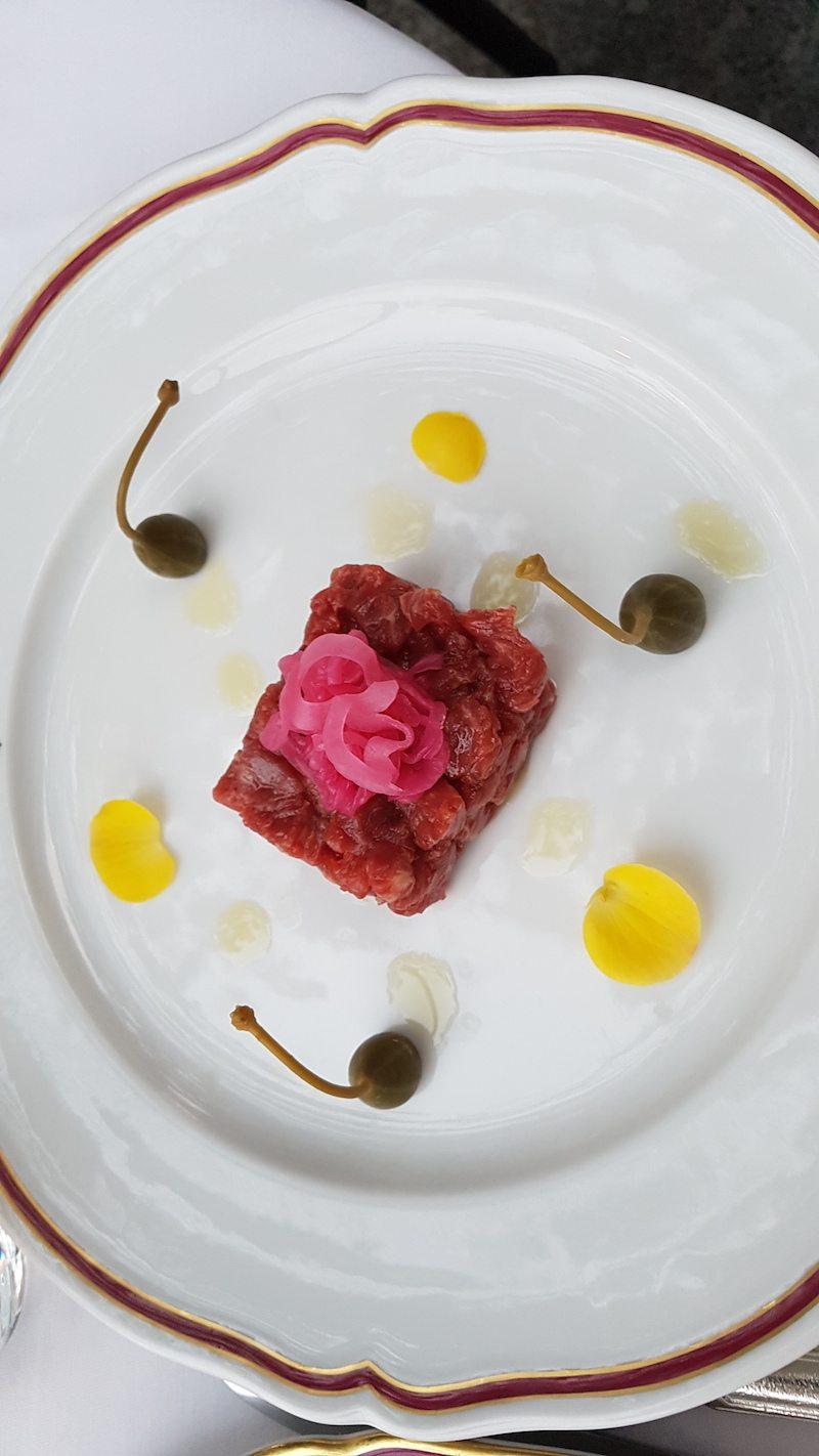 Beef Tartare from Restaurant Raimondi, Lake Como, Italy