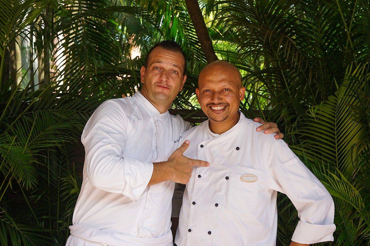 Chefs at Park Hyatt Goa