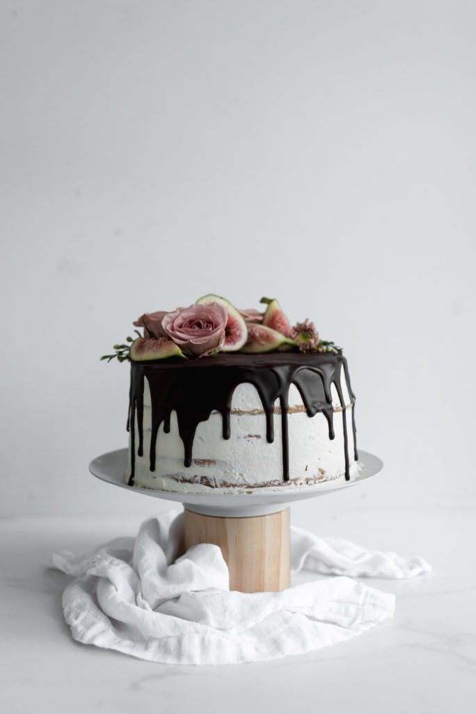 Almond and Fig Cake