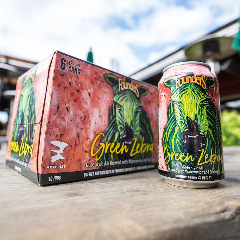 Founders Green Zebra: The Watermelon Beer of the Summer