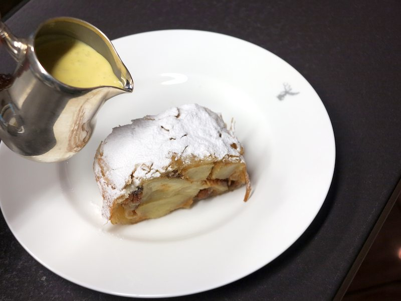 The Best Apple Strudel In The World