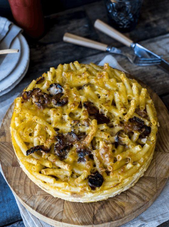 Ultimate Comfort Food: Macaroni and Cheese Cake