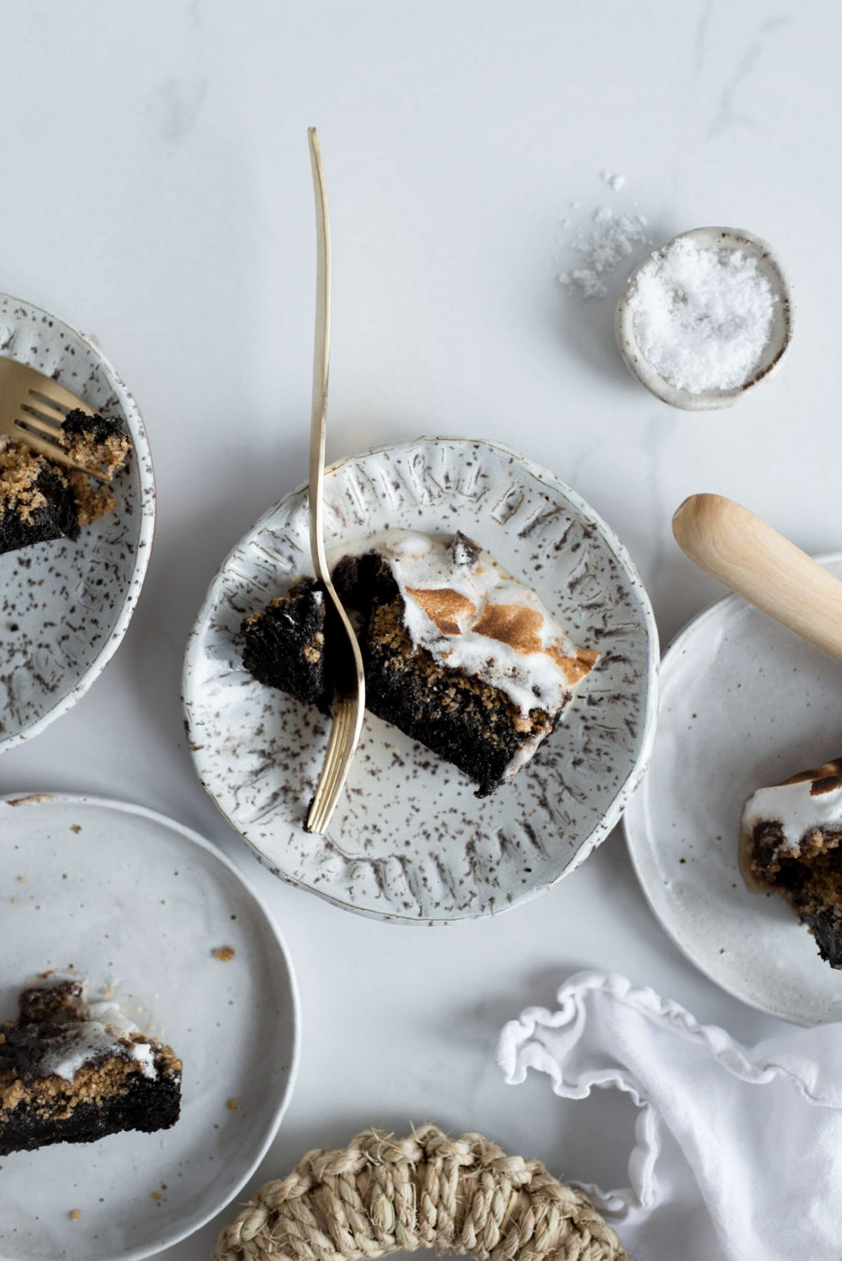 Brown Butter S'Mores Brownies