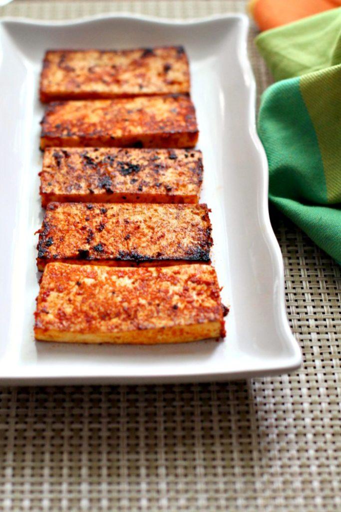 Fried Sriracha Tofu