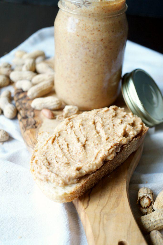 Homemade Roasted Peanut Butter