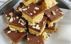 almond-butter-bars