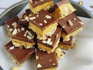 almond-butter-bars