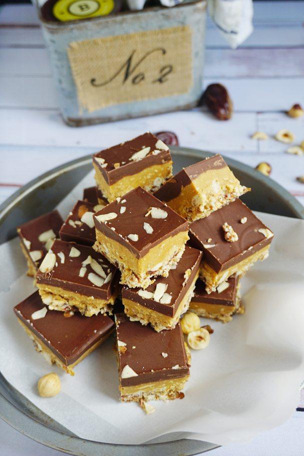 No-Bake Almond Butter Bars