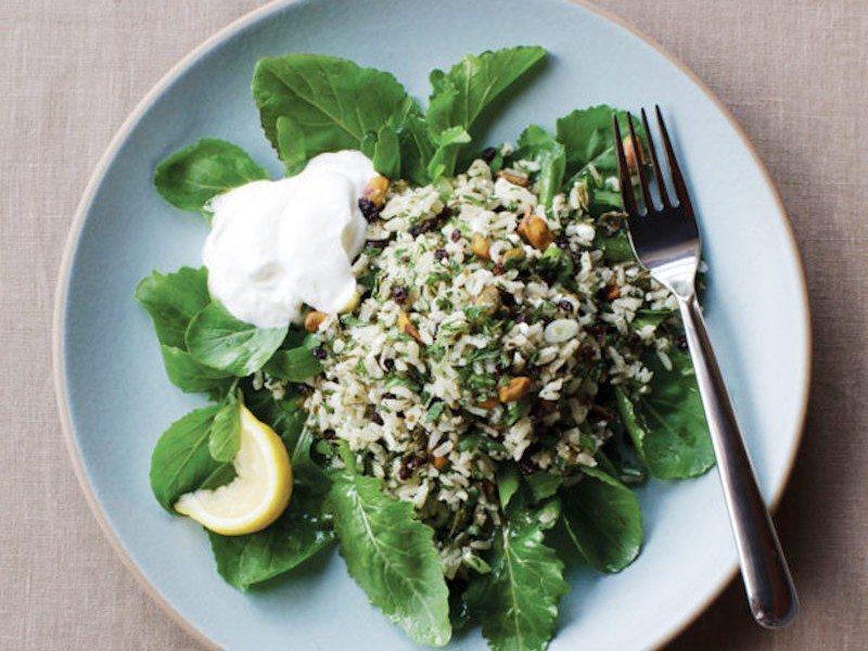 brown-rice-grape-leaf-salad-dinner-cookbook-diet-nutrition-health-food-spry-620x775
