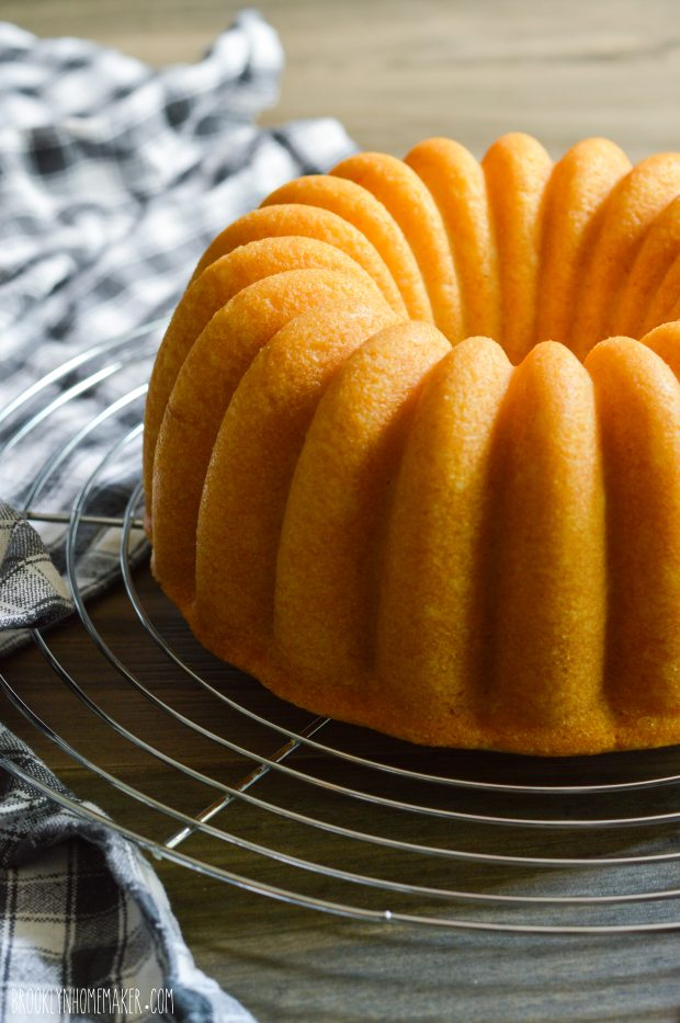 Simple Buttermilk Bundt Cake
