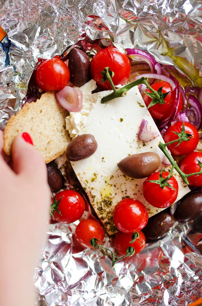 Ultimate Appetizer: Baked Feta