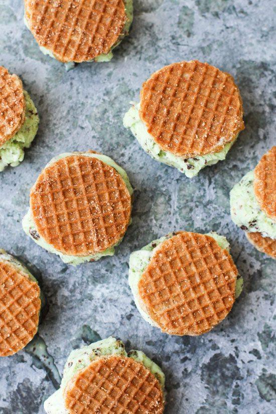 Easy Ice Cream Sandwiches