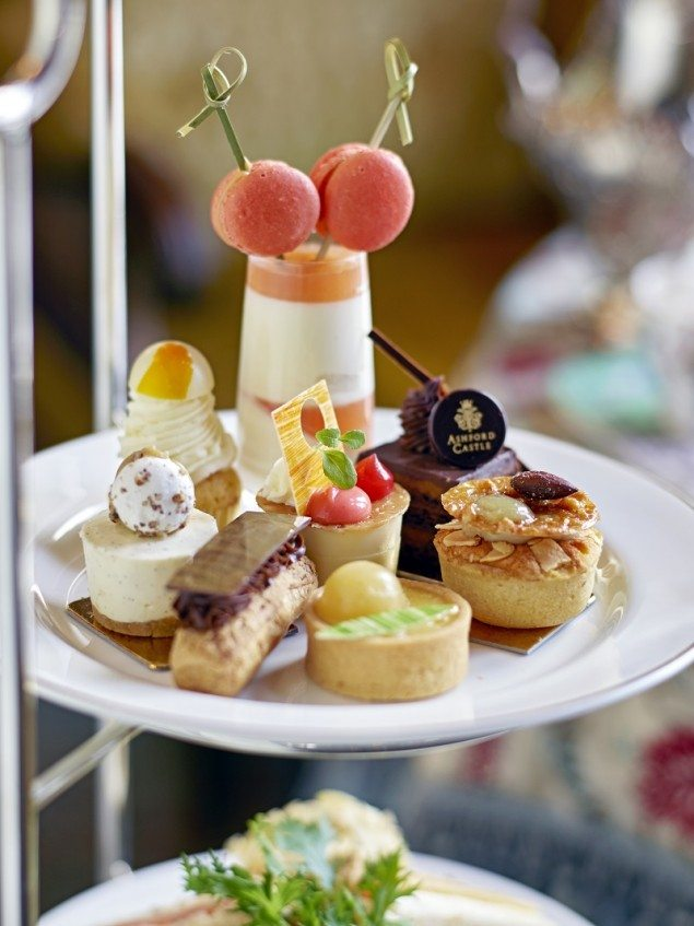 Afternoon Tea Connaught Room - Ashford Castle