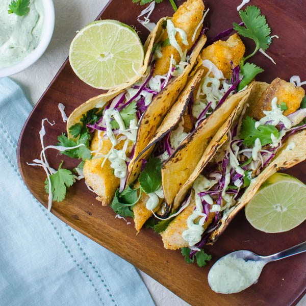Breaded and baked fish tacos for Best fish to use for fish tacos
