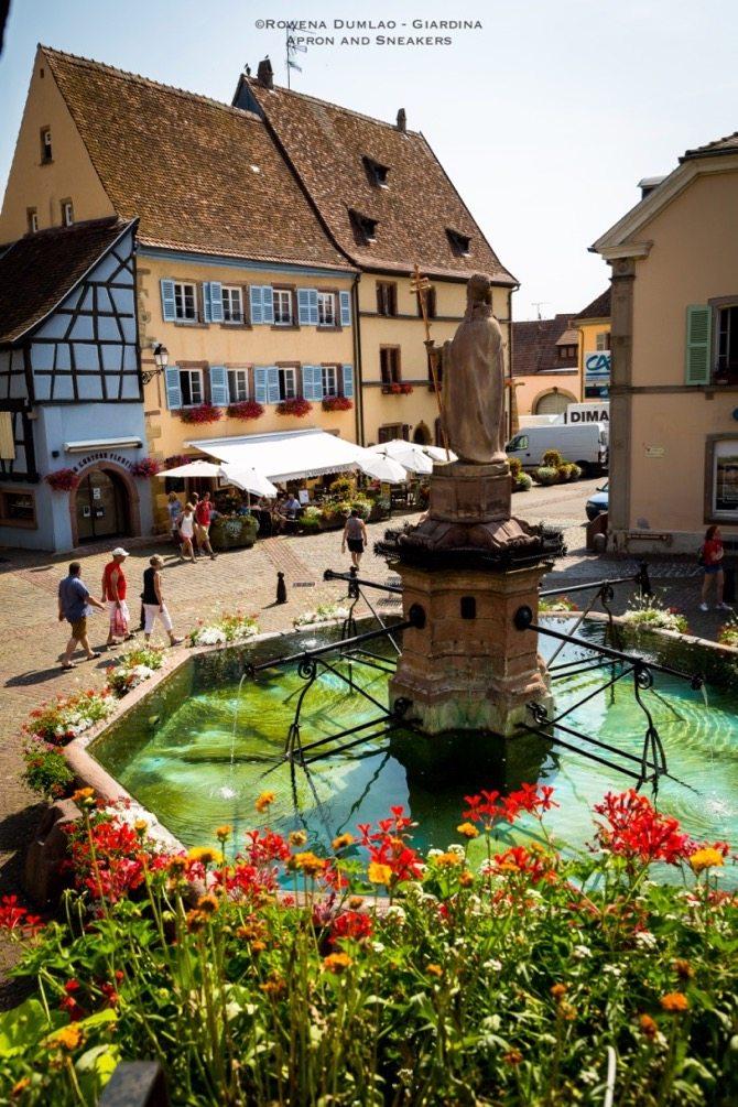 Tastes of alsatian wines in eguisheim france - Office de tourisme eguisheim ...