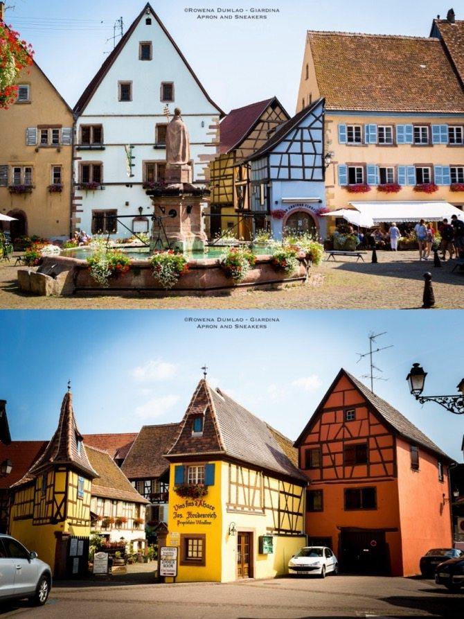 Tastes of Alsatian Wines in Eguisheim, France